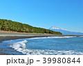 富士山 海 波の写真 39980844