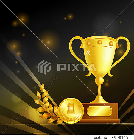 Realistic Trophies Of Winner Composition 39981459