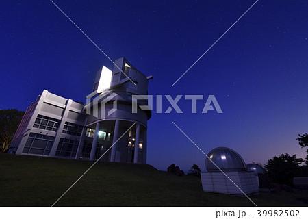 兵庫県立西はりま天文台公園 天文台南館 夜景(兵庫県佐用郡佐用町) 39982502