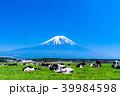 富士山 牧場 放牧の写真 39984598