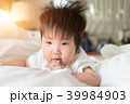 Close-up picture of an Asian baby. 39984903