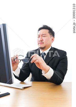 長時間労働に疲れるビジネスマン・働き方改革 39991310