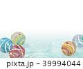 水風船 波紋 ヨーヨーのイラスト 39994044