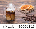 コーヒー ドリンク 飲み物の写真 40001313