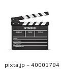 かちんこ カチンコ ムービーのイラスト 40001794