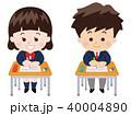 テスト 高校生 中学生のイラスト 40004890