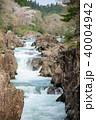 厳美渓 渓谷 春の写真 40004942