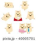 猪 亥 ベクターのイラスト 40005701