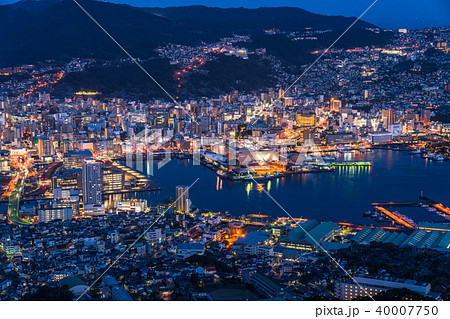 《長崎県》稲佐山の夜景・日本三大夜景 40007750