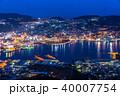夜景 長崎 都市風景の写真 40007754