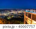 稲佐山 夜景 長崎の写真 40007757