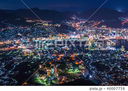 《長崎県》稲佐山の夜景・日本三大夜景 40007758
