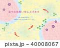素材-暑中お見舞い1-1(テクスチャ) 40008067