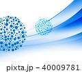 水玉 ドット 丸のイラスト 40009781