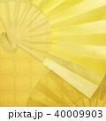 金箔 背景 和風のイラスト 40009903