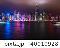 《香港》香港の夜景 40010928