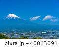 富士山 富士市 新東名高速の写真 40013091