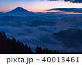 《静岡県》富士山と大雲海 40013461