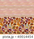 マリン 海 シームレスのイラスト 40014454