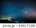 駿河湾に昇る天の川 40017188