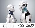 ロボット アンドロイド 人造人間のイラスト 40018082