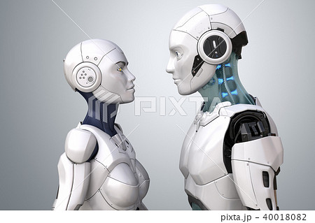 Robot couple 40018082