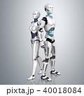 ロボット アンドロイド サイボーグのイラスト 40018084