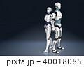 ロボット アンドロイド サイボーグのイラスト 40018085