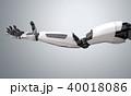 ロボット 腕 アンドロイドのイラスト 40018086