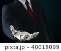 ロボット 空いている 蜆壹>のイラスト 40018099