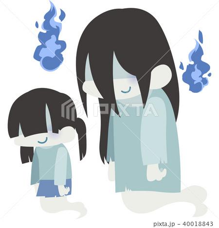 親子の幽霊 40018843