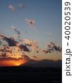 羽田空港 富士山 40020539