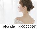 女性 メイクアップ 化粧の写真 40022095