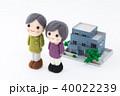 シニア 家 夫婦の写真 40022239
