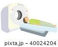 MRI 人間ドック 脳ドックのイラスト 40024204