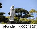 像 祈りの像 晴天の写真 40024825