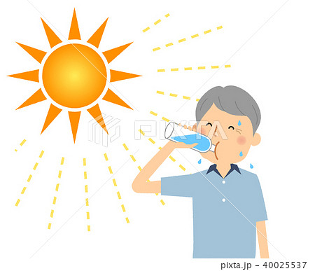 高齢者男性 水分補給 40025537