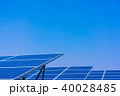 ソーラーパネル 太陽電池 太陽光発電の写真 40028485