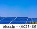ソーラーパネル 太陽電池 太陽光発電の写真 40028486