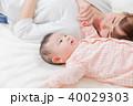日本人 親子 ママの写真 40029303