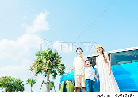 家族 旅行 40030897