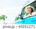 若い女性 自動車 40031271