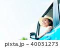若い女性 自動車 40031273