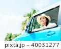 若い女性 自動車 40031277