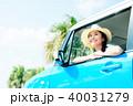 若い女性 自動車 40031279