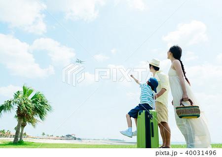 旅行イメージ 家族 40031496