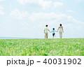 若い親子 家族イメージ 40031902