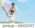 家族 親子 風船の写真 40032397