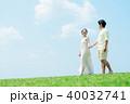 夫婦 人物 男女の写真 40032741