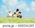 家族 親子 ライフスタイルの写真 40034165